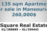 A 135 Sqm Apartment For Sale In Mansourieh