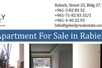 Apartment For Sale In Rabieh